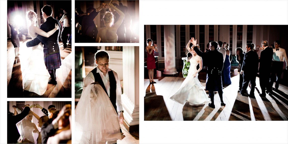 The wedding dance for the married couple