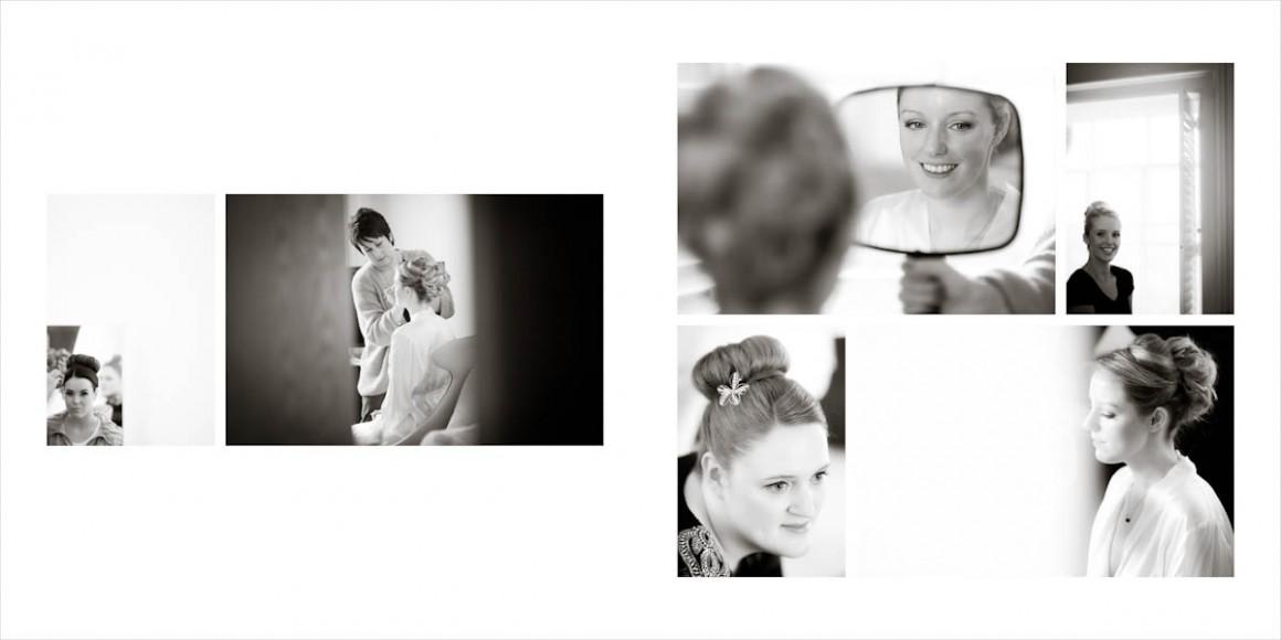 The brides make up