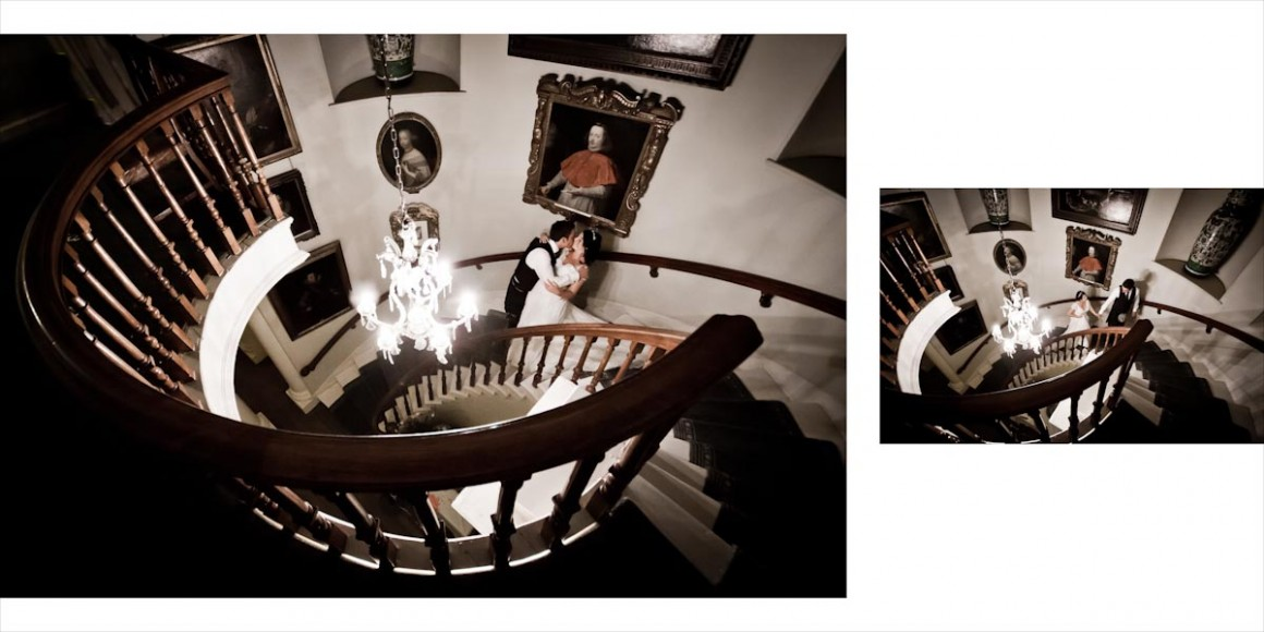 Spiral stairs are a fringe