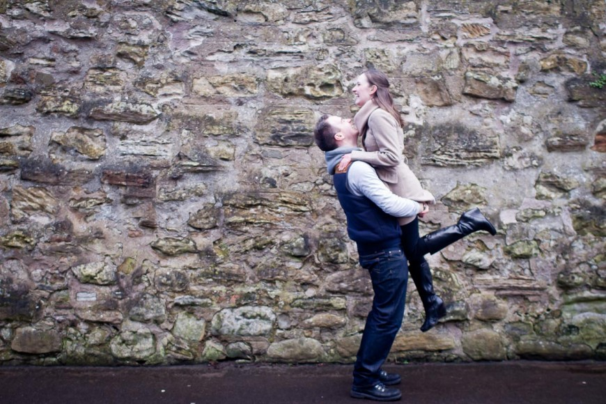 engagement photography st andrews