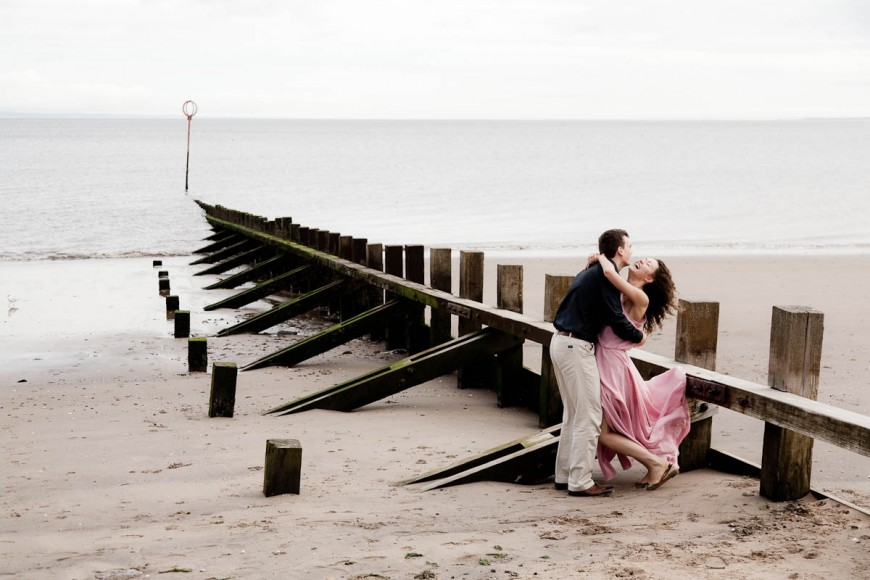 engagement photography portobello beach