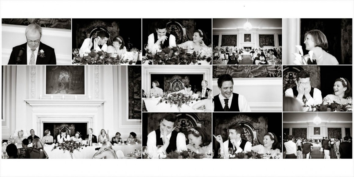 Wedding speeches at the wedding breakfast